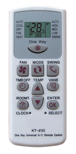 universal ac remote controller
