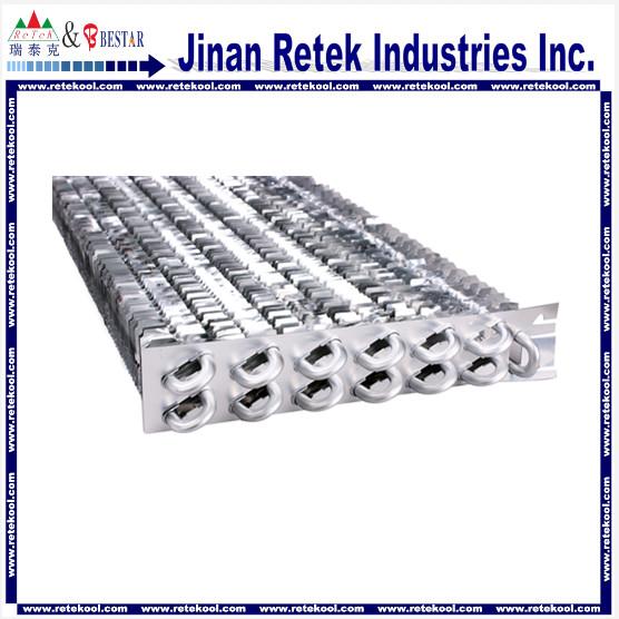 Refrigeration no Frost aluminum finned evaporator, aluminum