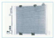 Opel Astra air conditioner condenser