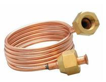 AC Copper Capillary Tube With Copper Nuts