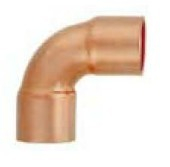 90° copper short radius elbow-CXC for air conditioning