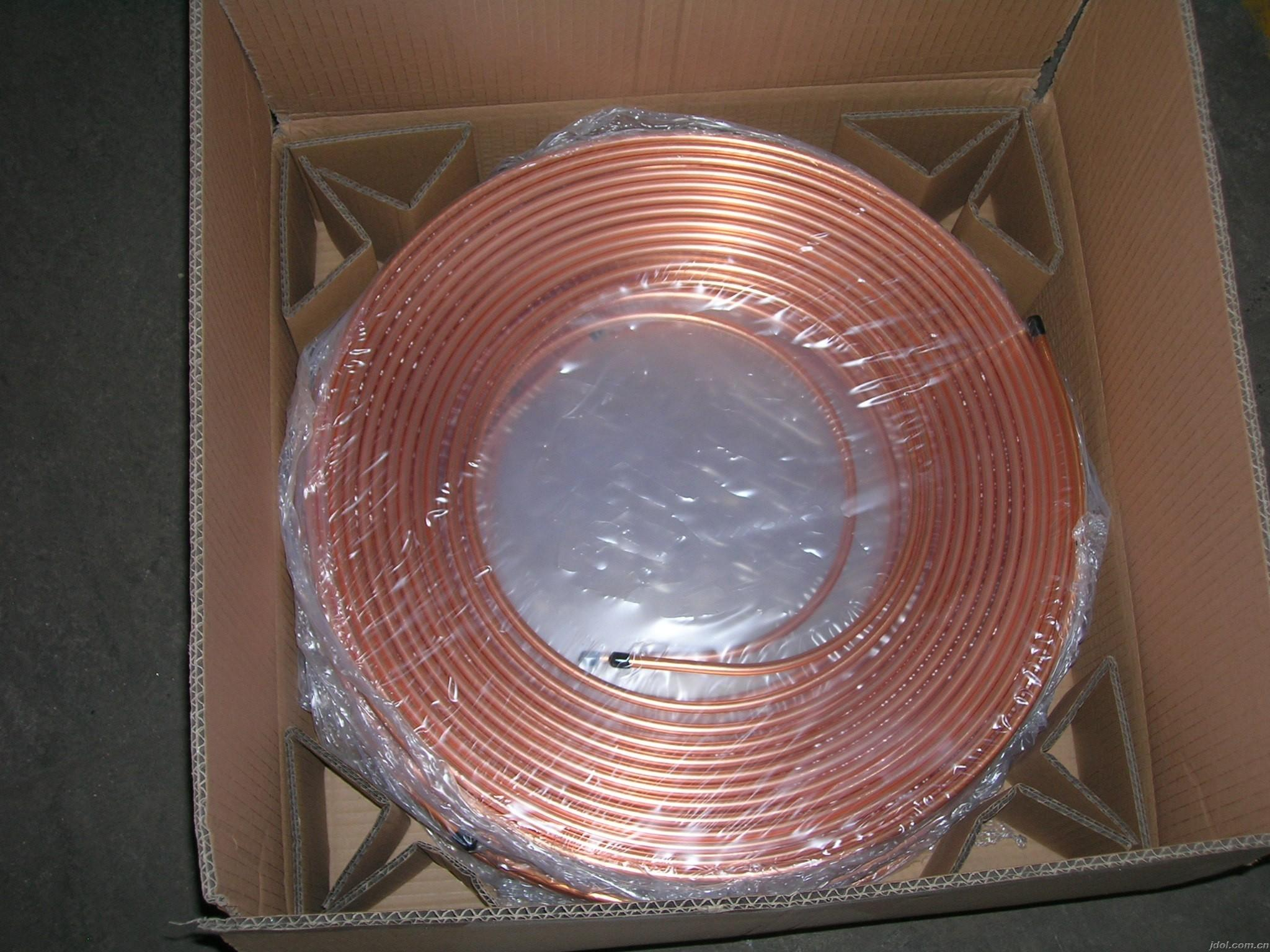 Refrigeration Parts Pancake Copper Tube
