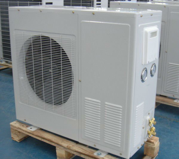 BOX TYPE AIR COOLED CONDENSING UNIT WITH BITZER COMPRESSOR
