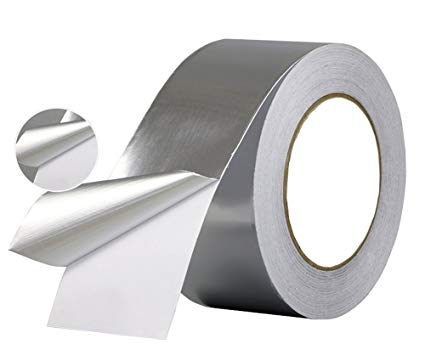 Reinforced aluminium foil duct tape for external package of refrigerator