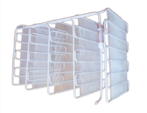 High Quality Wire Tube Evaporator for Refrigerator with White Painting