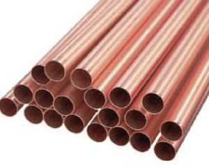 Straight Pipe 1 Ton Copper Tube