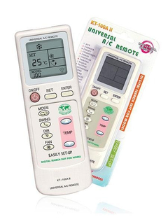 KT-100AII Universal Air Conditioner Remote Control
