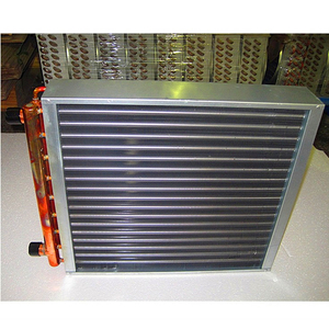 100K BTU hot water to air heat exchanger Coil for outdoor wood boiler
