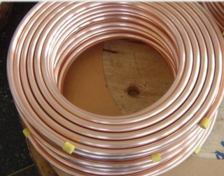Double Wall Tube with Copper