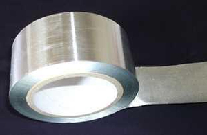 HVAC aluminium foil tape for thermal insulation engineering