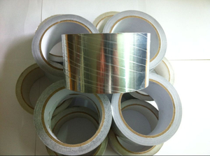 HVAC plain aluminium foil adhesive tape for air conditioner