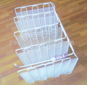 Steel Wire Tube Evaporator with White Painting for Refrigerator