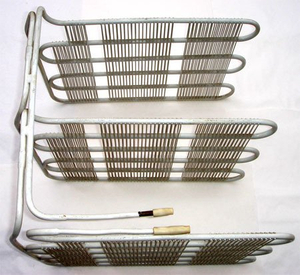 Aluminium Wire On Tube Evaporator Unit For Fridge