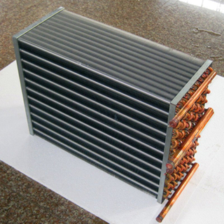 Commercial aluminium and Copper Heat Exchanger coil For Cold Storage