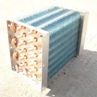 copper finned tube evaporators