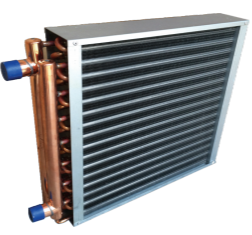 Copper Tube aluminium finned Heat Exchangers for outdoor wood furnace